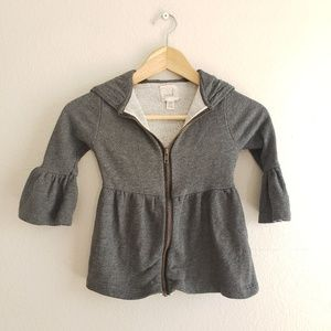 Peek Gray Hooded Jacket